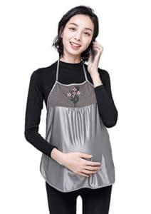 JUNZENIA Anti-Radiation Dress Maternity Women Top Pregnant Protection Shield Clothes