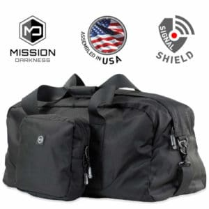 Mission Darkness X2 Faraday Duffel Bag
