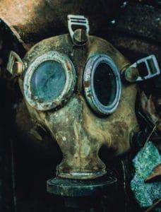 radiation protection mask